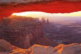 Mesa Arch  Canyonlands  Utah  USA