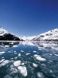 Ice Melting on John Hopkins Glacier  Glacier Bay National Park and Preserve  Alaska  USA