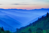 Predawn Color in the Smoky Mountains