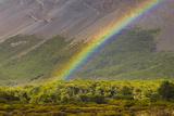 Rainbow near Rio Blanco below Fitzroy Massif
