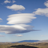 Lenticular Clouds over Foothills