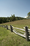 Split Rail Fence  Blue Ridge Parkway  Virginia