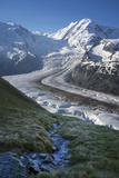 Mountain Creek Pouring in a Glacier