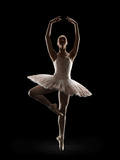 Ballerina in Releve Pose