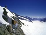 Jungfraujoch  Aletsch Glacier  Switzerland