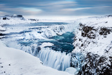 The Golden Waterfall - Gullfoss  Southern Iceland