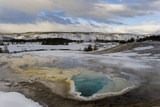 Geothermal Hot Spring  Yellowstone NP
