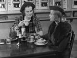 Two Women at Restaurant