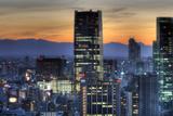Sunset on Tokyo Midtown