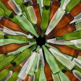 Bottles in Shape of Iris