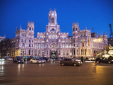 Palacio De Cibeles  Madrid  Spain