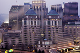 Usa  Ohio  Cincinnati Skyline at Dawn