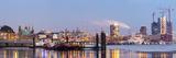 Hamburg Harbour on Ice  Elbe River  57Mpx