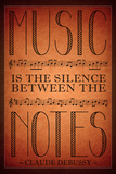 Music is the Silence Between the Notes