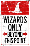 Wizards Only Beyond This Point