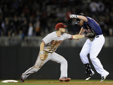 Sep 23  2014  Arizona Diamondbacks vs Minnesota Twins - Chris Owings