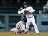 Sep 24  2014  San Francisco Giants vs Los Angeles Dodgers - Dee Gordon