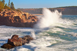 Stormy Acadia Coastline