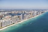 Usa  Florida  Miami Cityscape as Seen from Air