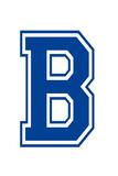 Varsity Letter B Make Your Own Banner