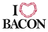 I Heart Love Bacon