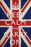 Keep Calm and Carry On  Union Jack Flag