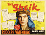 The Sheik Movie Rudolph Valentino Agnes Ayres Adolphe Menjou