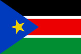 South Sudan Country National Flag