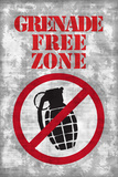 Jersey Shore Grenade Free Zone Gray TV