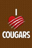 I Heart Cougars Humor