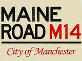 Maine Road M14 Manchester Road