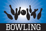 Bowling Blue Sports