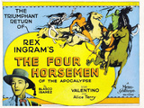 The Four Horsemen of the Apocalypse Movie Rudolphe Valentino