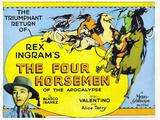 The Four Horsemen of the Apocalypse Movie Rudolphe Valentino
