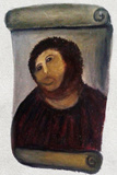 Ecce Homo Botched Restoration