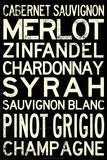 Wine Grape Types
