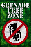 Jersey Shore Grenade Free Zone Green TV