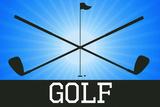 Golf Blue Sports