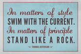 Stand Like A Rock Thomas Jefferson Quote