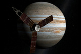 Juno Space Satellite Photograph