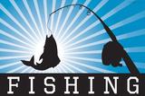 Fishing Blue Sports