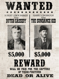 Butch Cassidy and The Sundance Kid Wanted