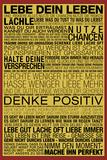 Lebe Dein Leben - This Is Your Life German