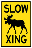 Slow - Moose Crossing