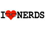 I Heart Nerds Humor