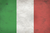 Italy Flag Distressed