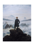 Caspar Friedrich Wanderer Above the Sea of Fog
