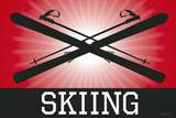 Skiing Red Sports