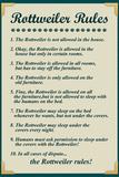 Rottweiler House Rules
