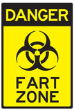 Danger Fart Zone Humor